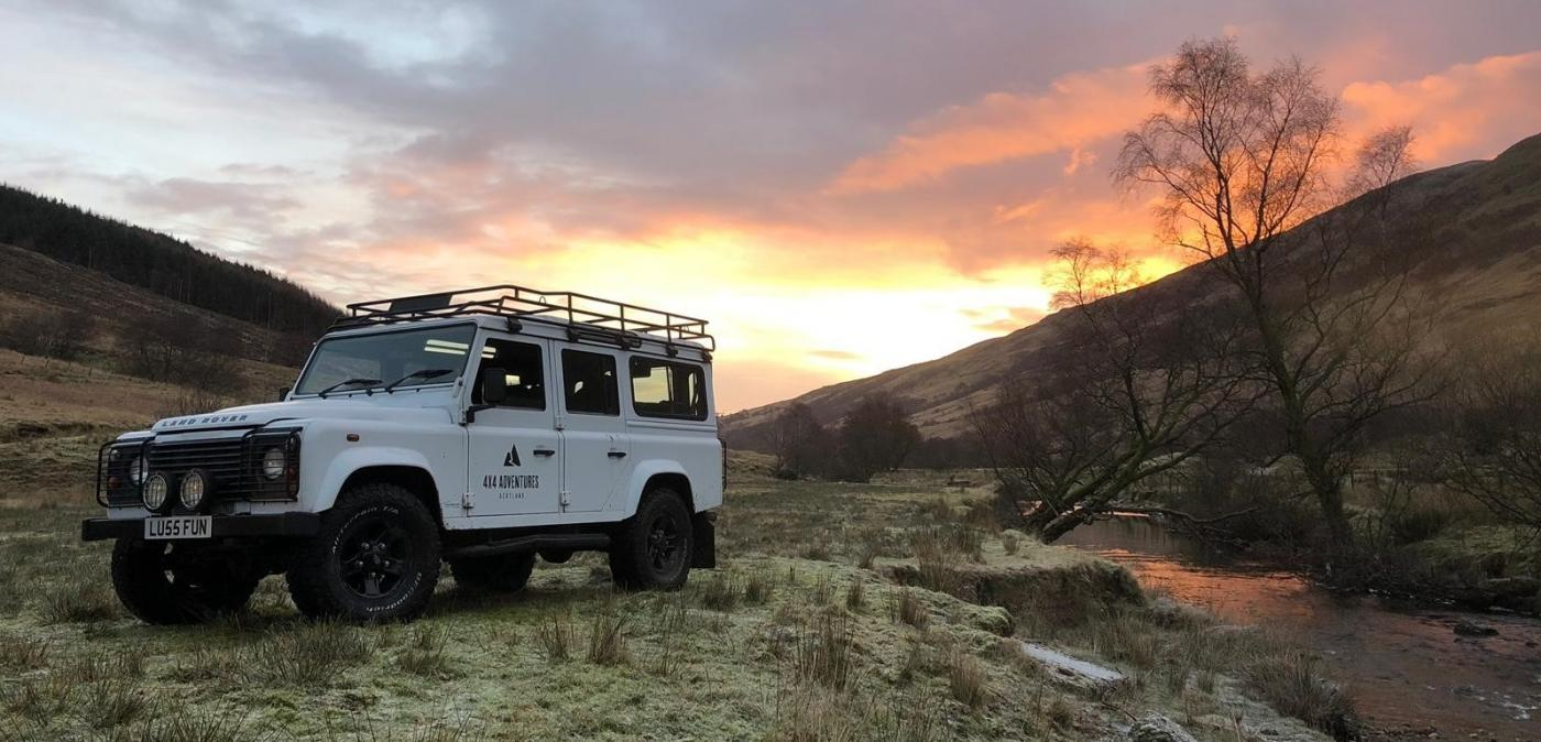 4x4 adrenaline adventures in Argyll