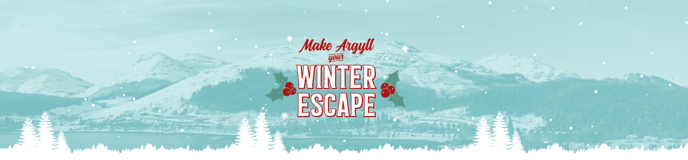 The header from Argyll Holidays Christmas blog