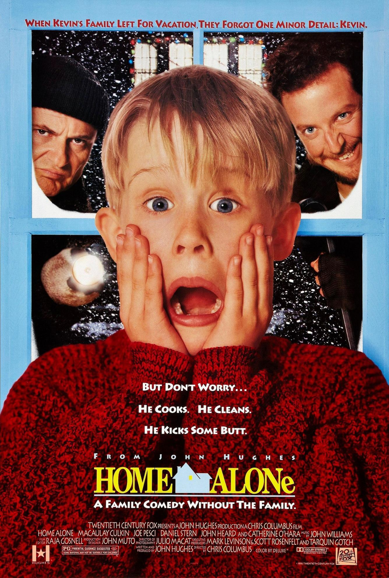 The cover art for Home Alone