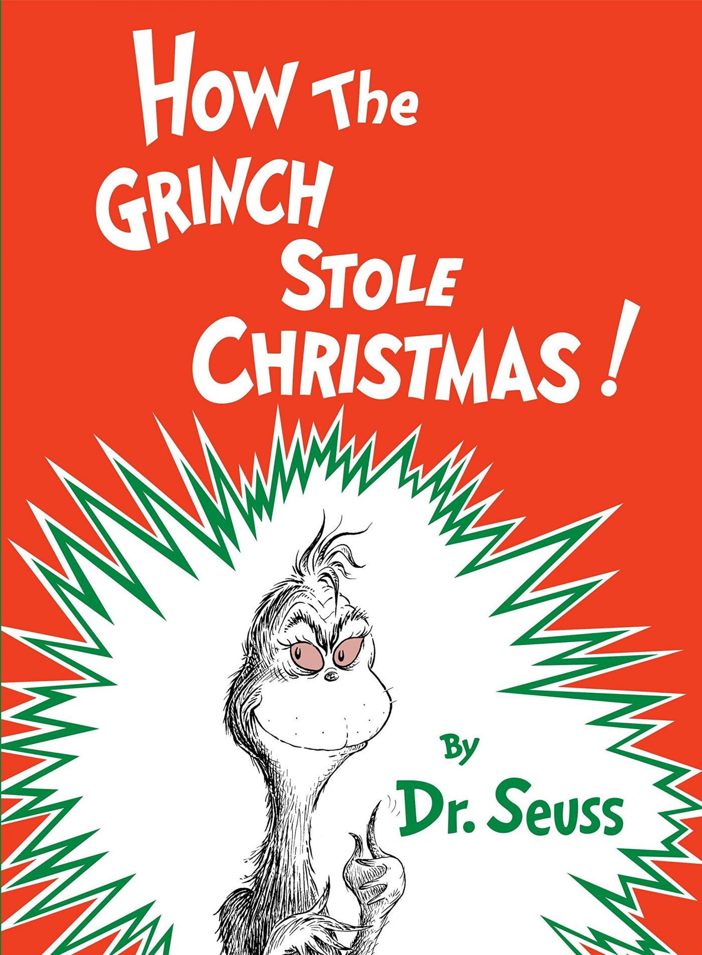 Front cover of How the Grinch Stole Christmas