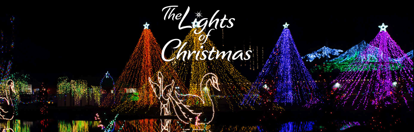 The header from the Lights of Christmas blog