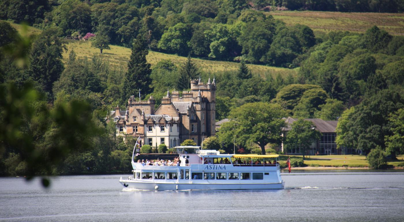 Sweeney's Cruises across the lochs in Argyll