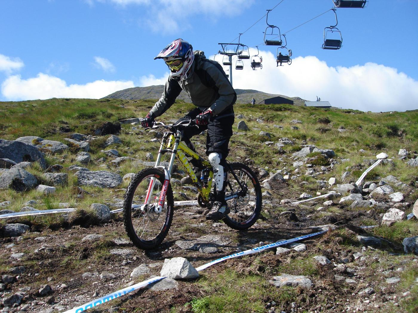 Glencoe mountain biking