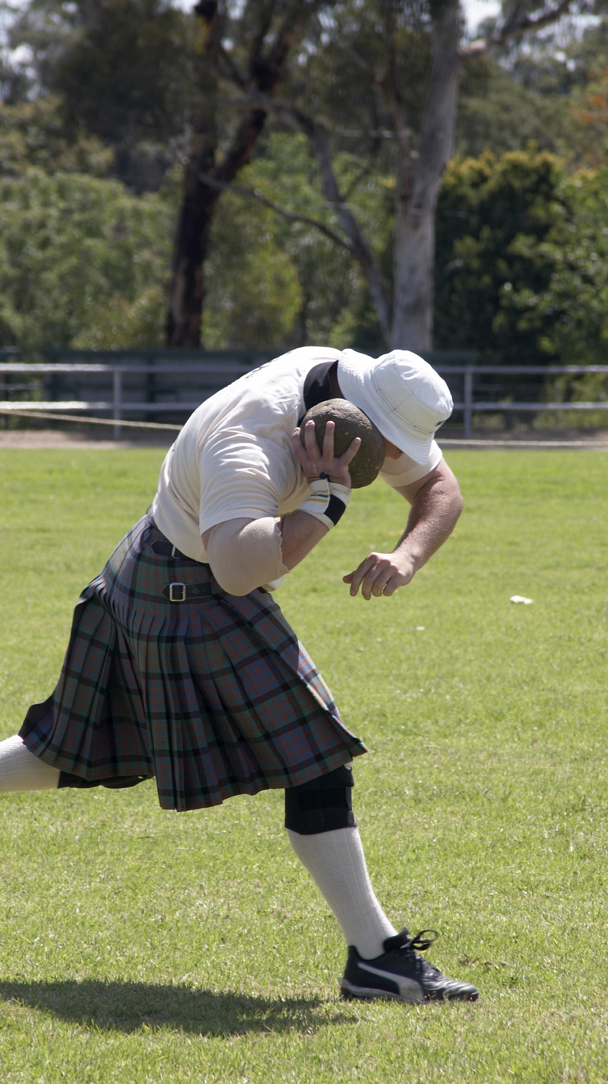 stone put highland games event
