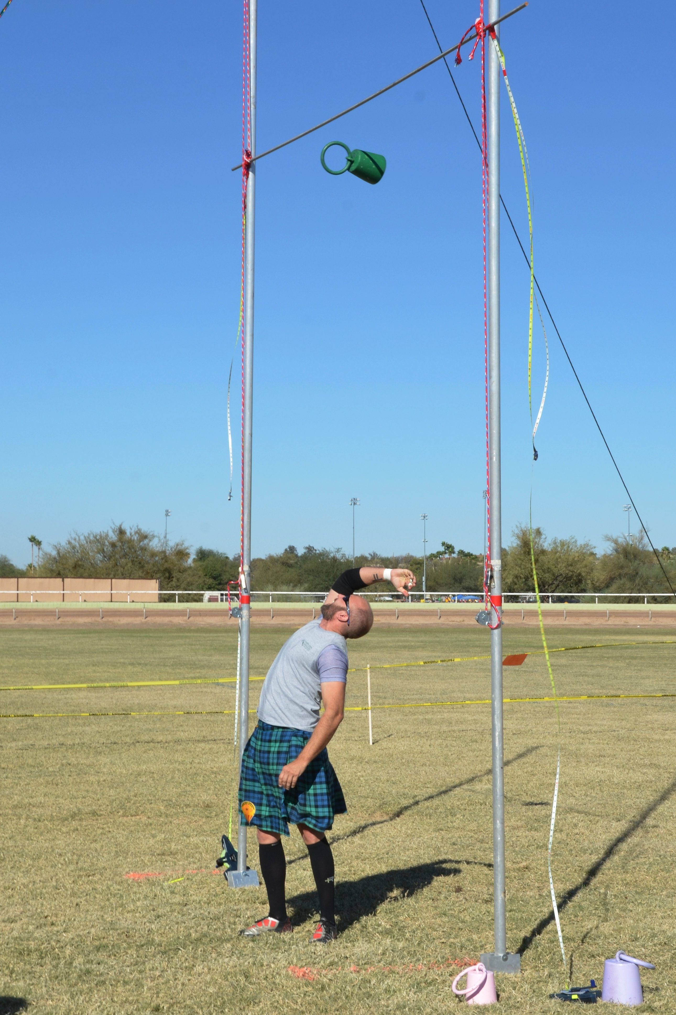 weight for height or weight over the bar highland games event