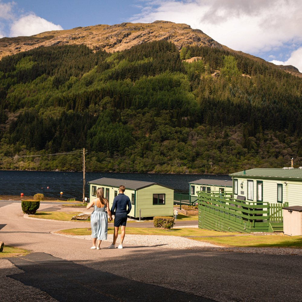 Caravans for Sale at Loch Eck Caravan Park