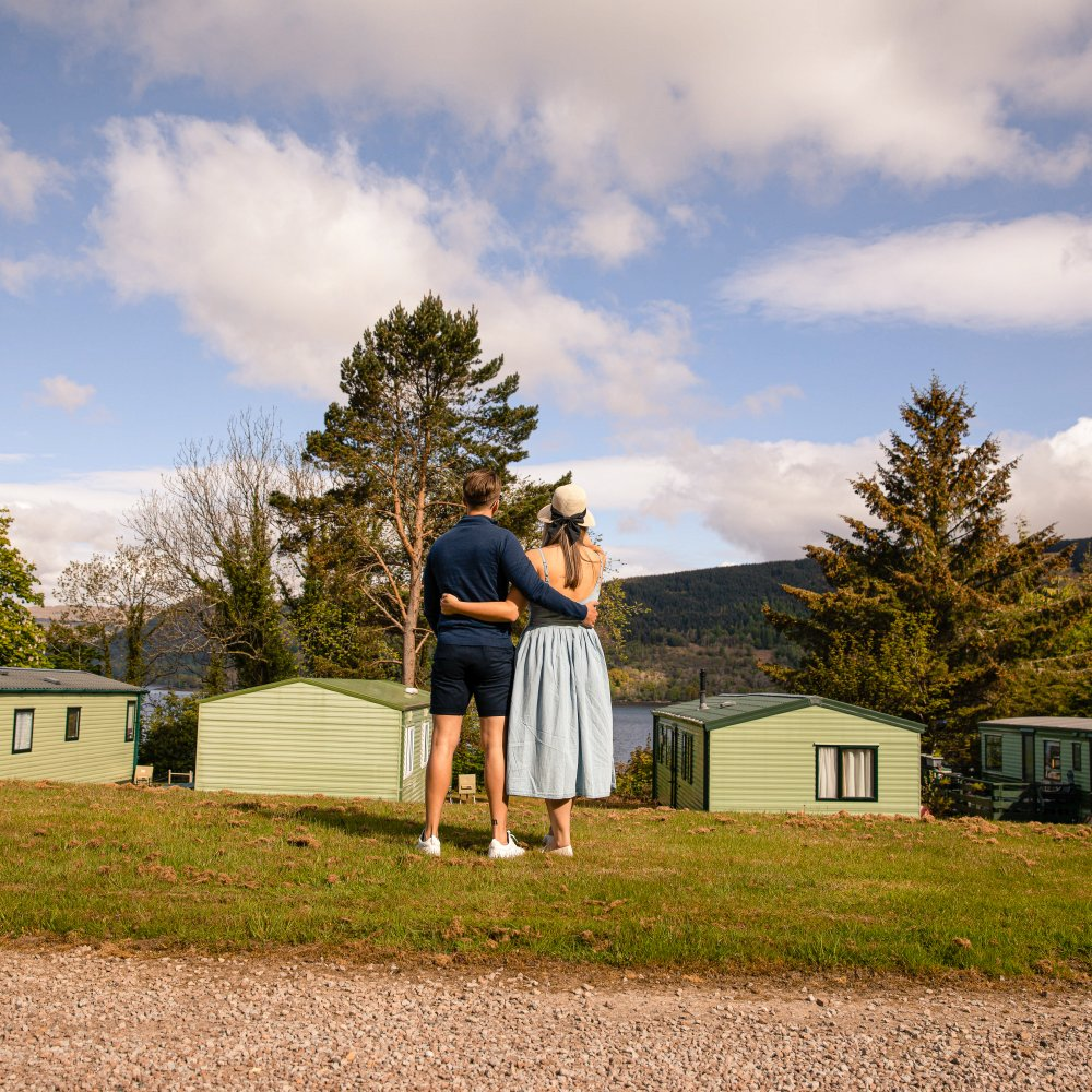 Peaceful holiday park on the shores of Loch Fyne