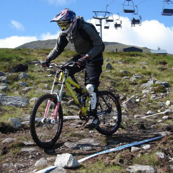 Mountain Biking at Glencoe Mountain