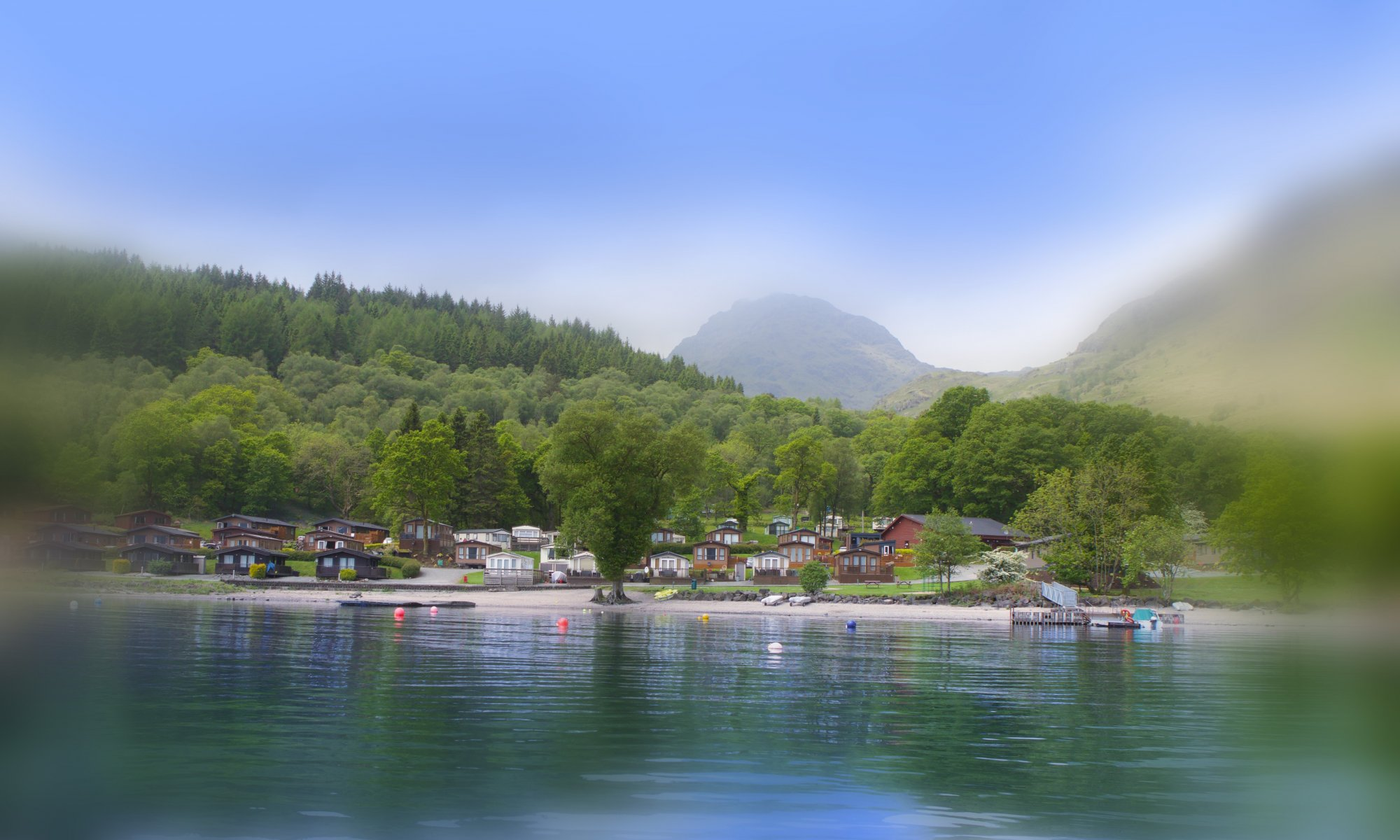 Five-star lochside holiday park