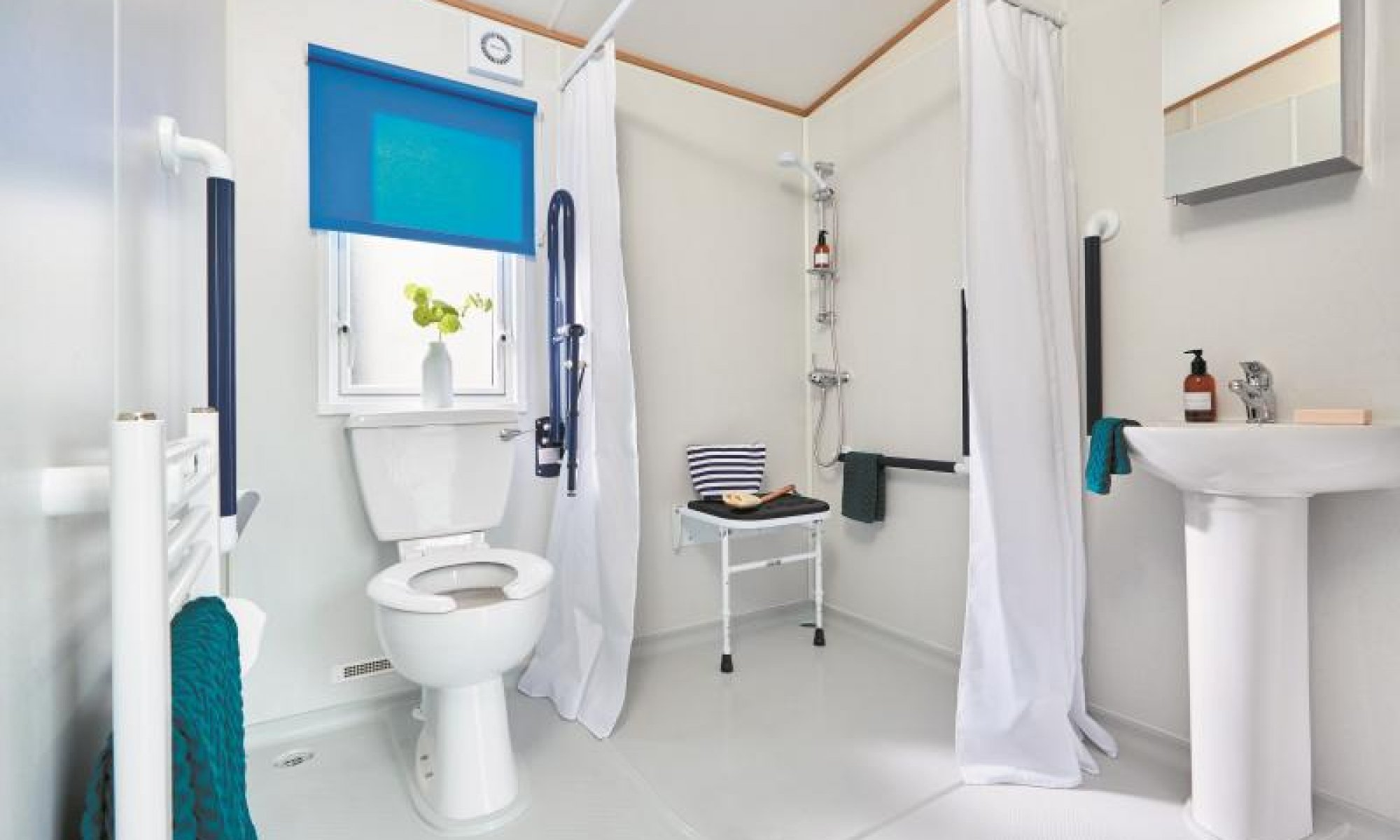 Thoughtfully designed wet room