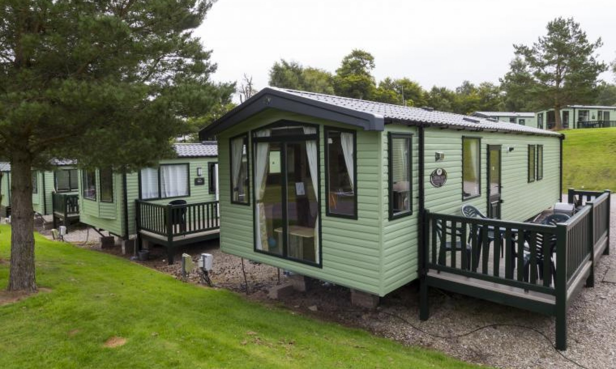 Dog friendly caravans at Hunters Quay Holiday Village