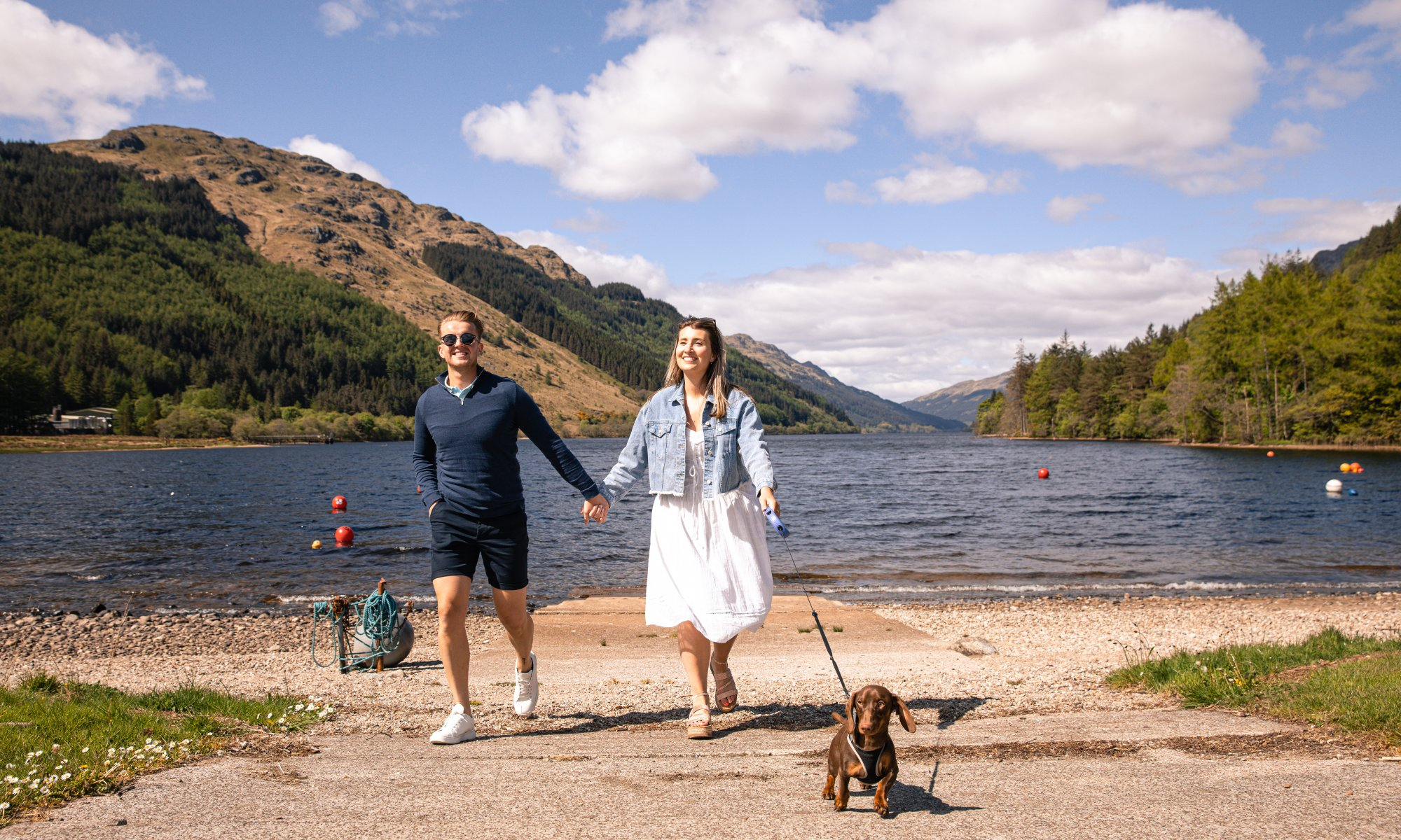 Pet friendly lochside holiday park