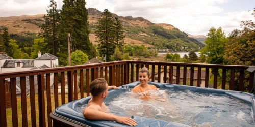 Hot tub holidays Scotland