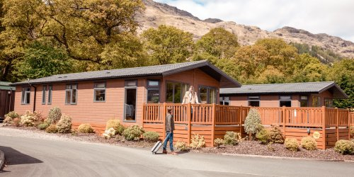 Lodges and log cabins for sale