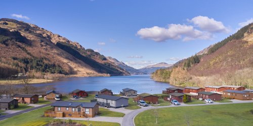 Small and peaceful holiday parks