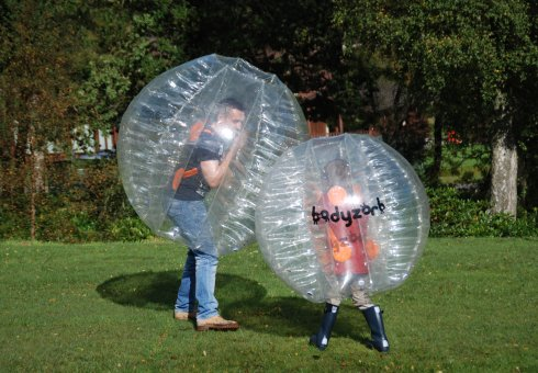 Body Zorbs - Family Fun in Argyll