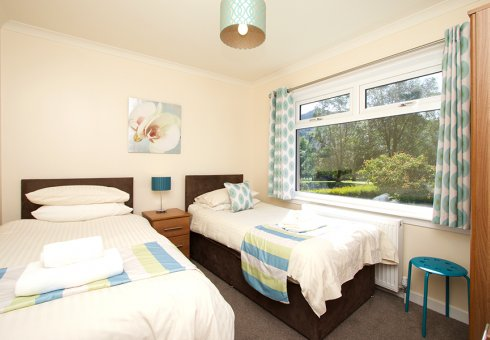 Torr Mhor Hot Tub Cottage - Twin Room