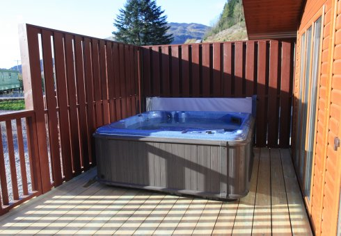 Albatross Platinum Hot Tub Lodge - 3 Bedrooms