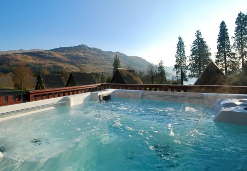 Golden Eagle Hot Tub Lodges