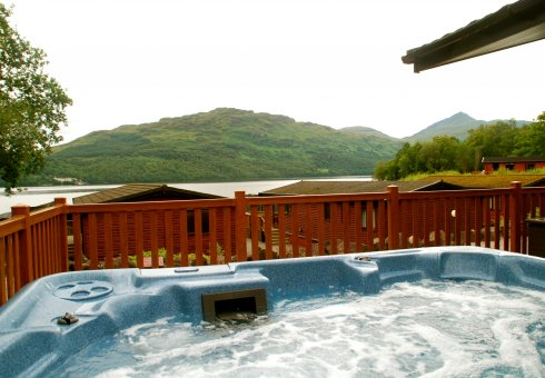 Lomond Royal 4 Bedroom Hot Tub Lodge