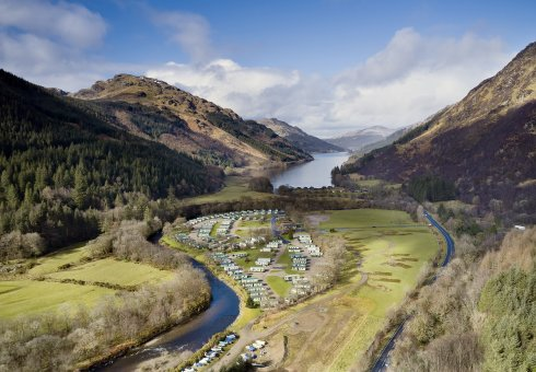 Stunning holiday parks in the west of Scotland