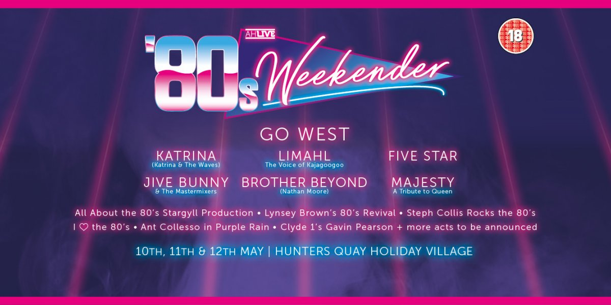 80s line up