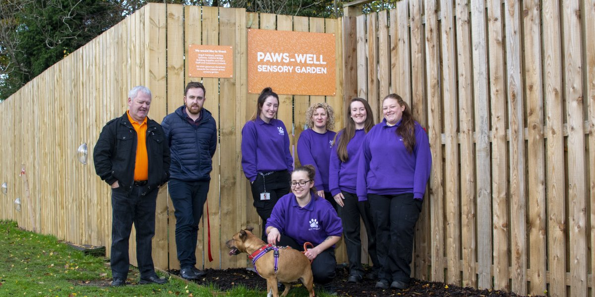 New Argyll Holidays funded Sensory Garden opens