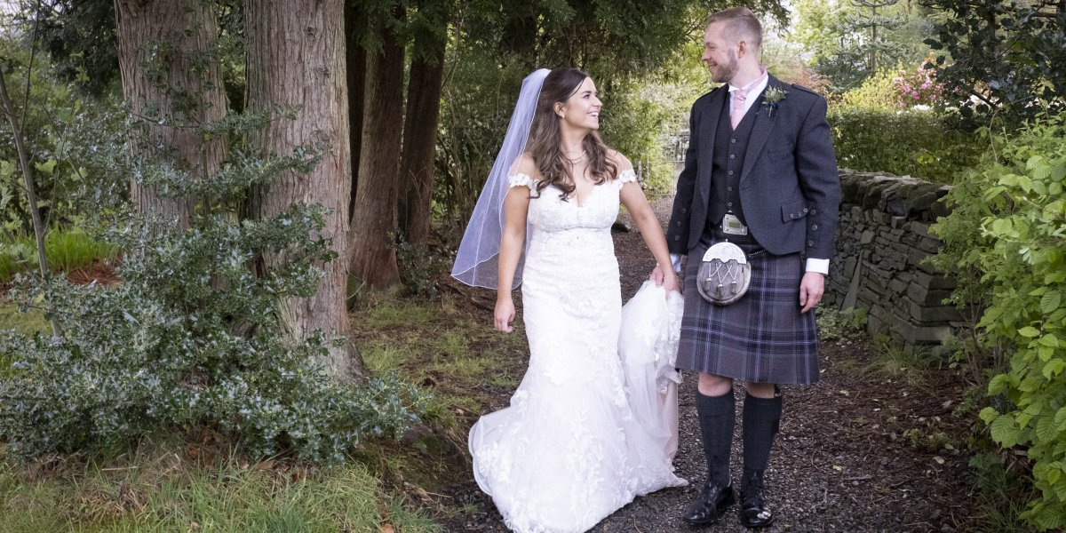 Getting married at Drimsynie Estate