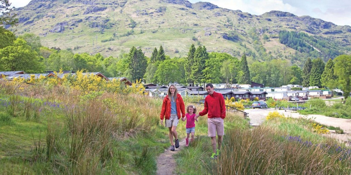 Walking routes for all the family near Loch Lomond