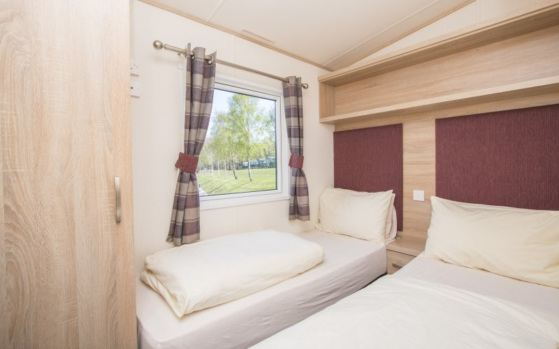 Premier Caravans - Twin Bedroom