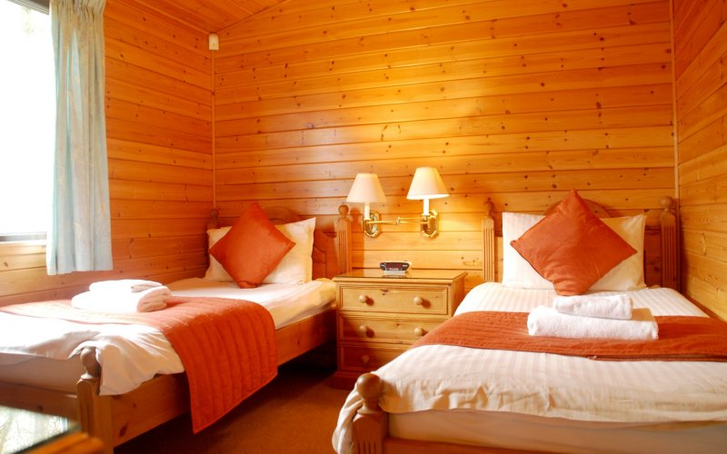 Clan Lodge - Twin Bedroom