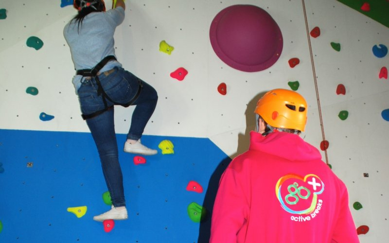 Climbing Wall - Family Fun in Argyll