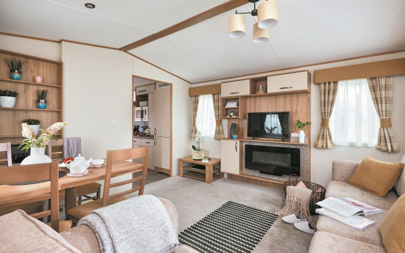 Accessible Caravan - Living Room