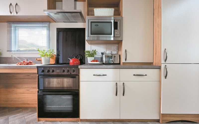 Accessible Caravan - Kitchen