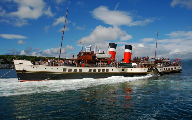 Waverley Paddle Steamer - Family Fun in Argyll
