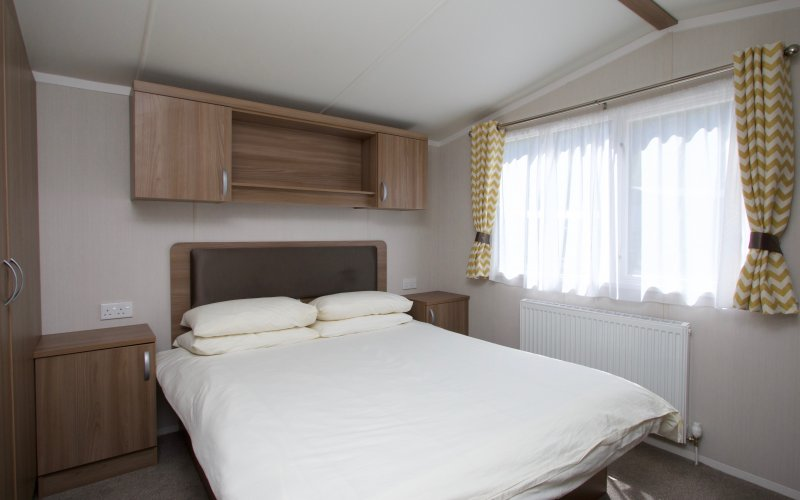 Premier Caravans- Double Bedroom