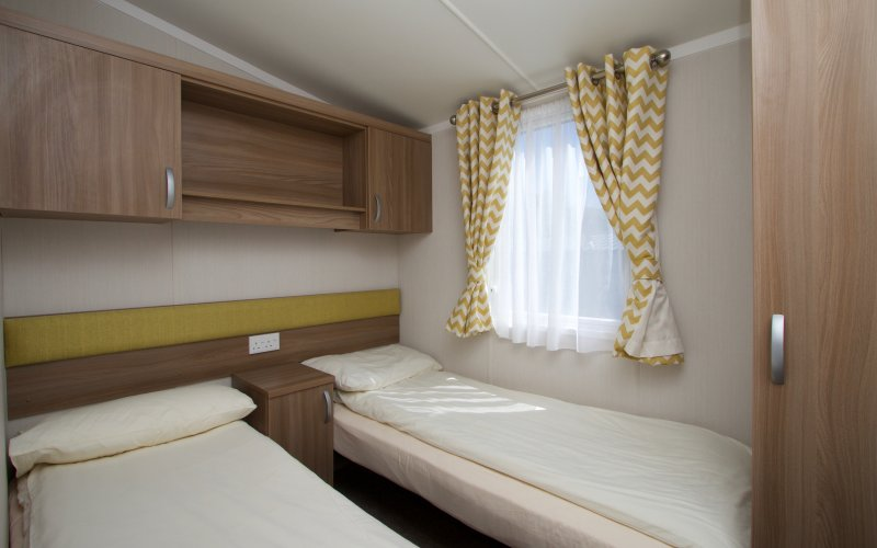 Premier Caravans in Scotland - Twin Bedroom