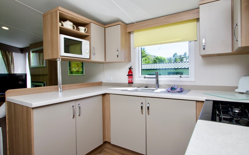 Premier Caravans in Scotland - Kitchen