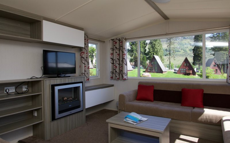 Comfort Plus Caravans - Living Room