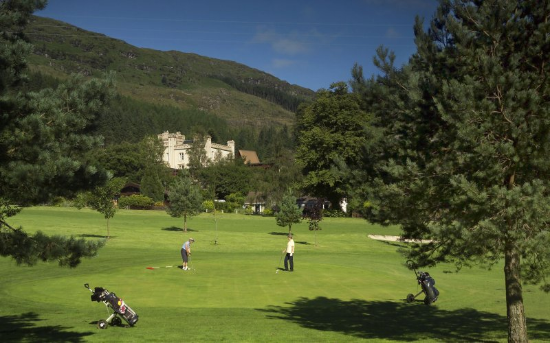 Golf at Drimsynie Estate