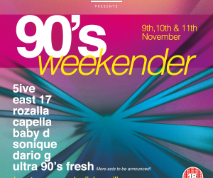 90's weekender at Hunters Quay