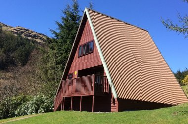 Our iconic A-Frame lodges
