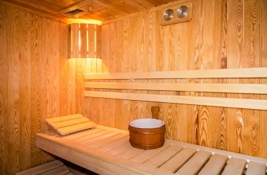 Relax in our Sauna & Steam Room in Argyll