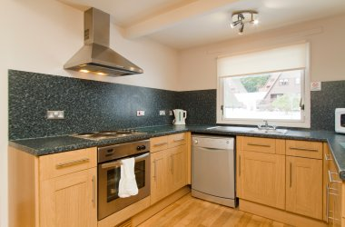 Eagle Comfort Plus Lodges - Kitchen