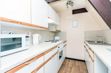 Osprey Comfort Lodges - Kitchen