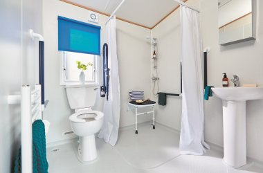 Accessible Caravan - Bathroom