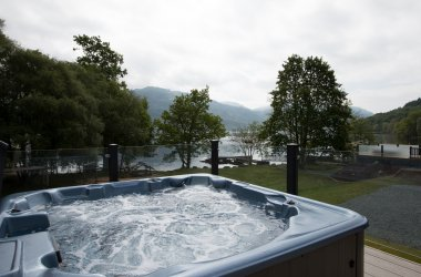 Lomond Royal Waterside 4 Bedroom Hot Tub Lodge - Hot Tub
