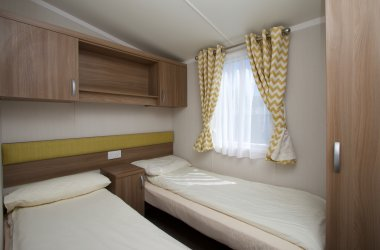 Premier Caravans- Twin Bedroom