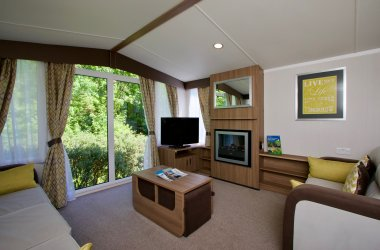 Premier Caravans in Scotland - Living Room