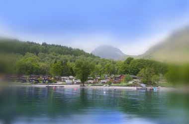 Loch Lomond Holiday Park - Stunning views